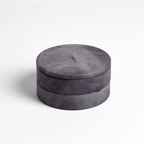 Alabaster Swivel Box-Grey