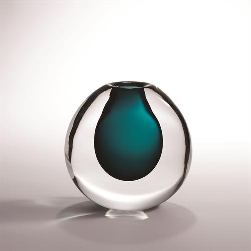 Ice Vase-Azure
