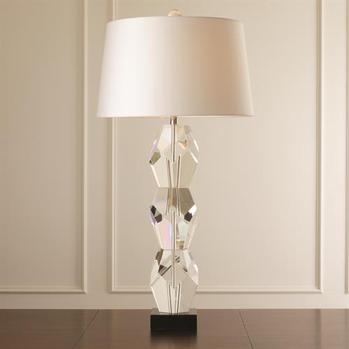 Facet Block Lamp-Triple