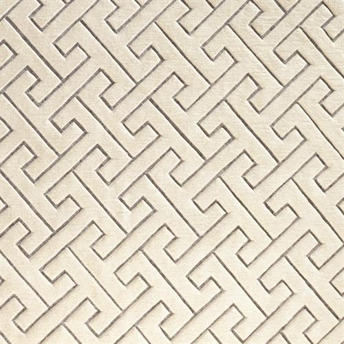 Tessellating Rug-Ivory/Grey