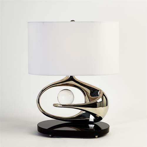 Orbit Lamp-Nickel