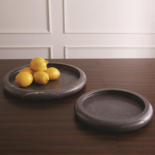 Rolled Rim Bowls- Graffito Marble