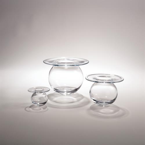 H2O Vase-Clear