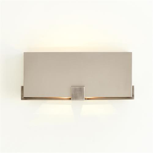 Empire Wall Sconce-Nickel/Graphite-HW