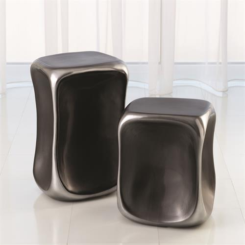 Formation Accent Tables-Black/Platinum