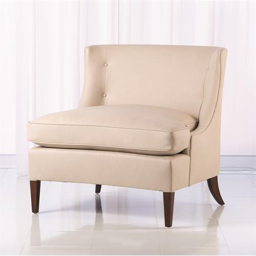 Severn Lounge Chair-Muslin