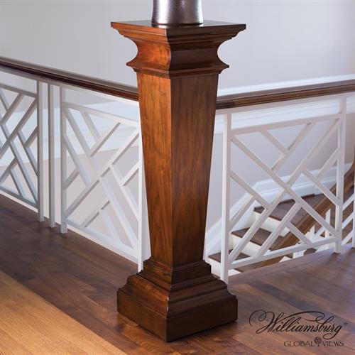 York Pedestal-Walnut