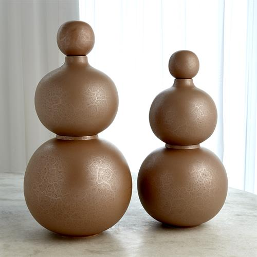 Bubble Stacking Vase-Terracotta