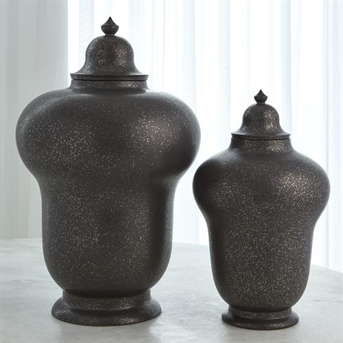 Lady Ginger Jar-Bronze