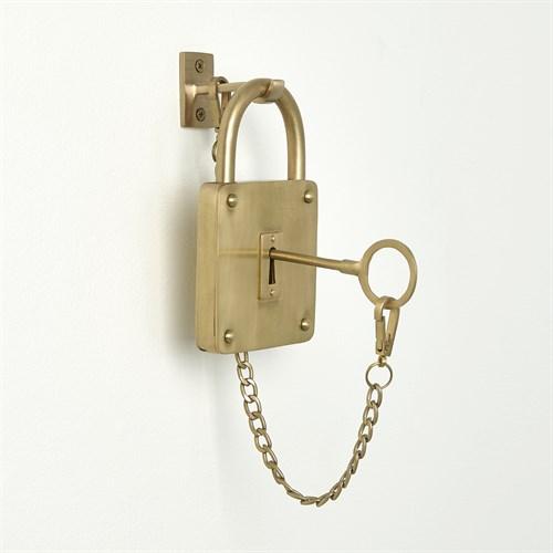 Classic Padlock-Satin Brass