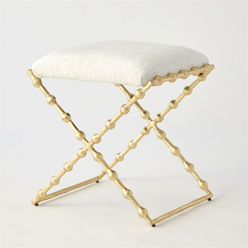 Elder Bench-Gold Leaf-COM