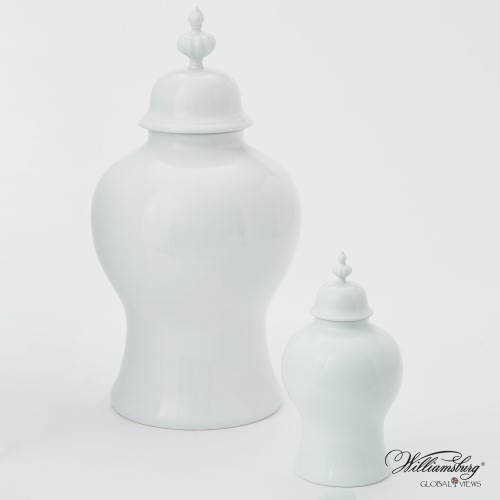 Beaufort Ginger Jar-White