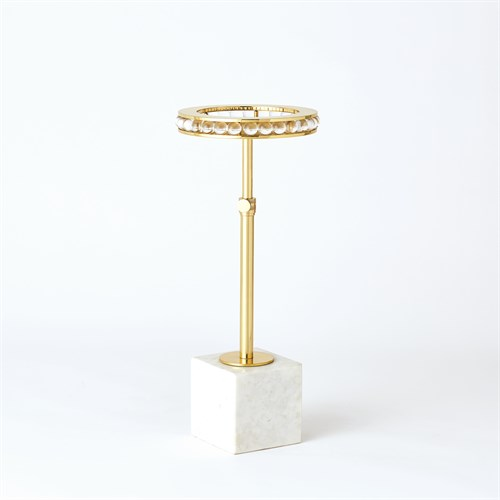 Margot Side Table-Brass