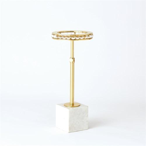 Margot Side Table-Brass