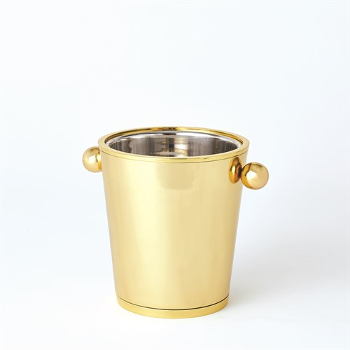 Margot Champagne Bucket-Brass