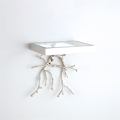 Twig Wall Bracket-Nickel