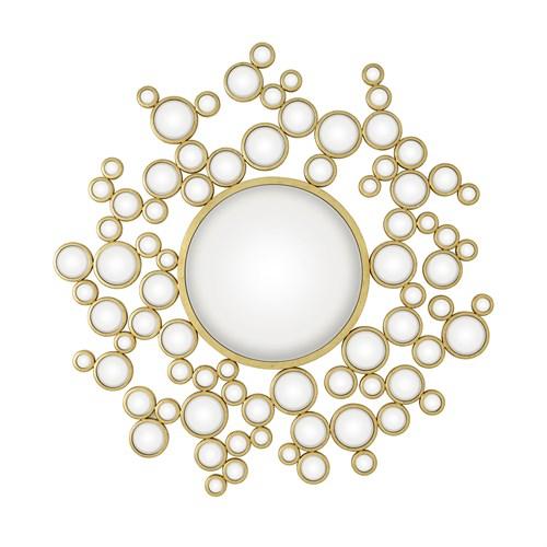 Aquarius Mirror-Gold Leaf
