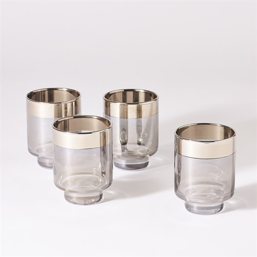 S/4 Twilight Drinking Glasses-Short