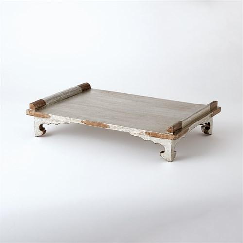 Pagoda Tray-Silver