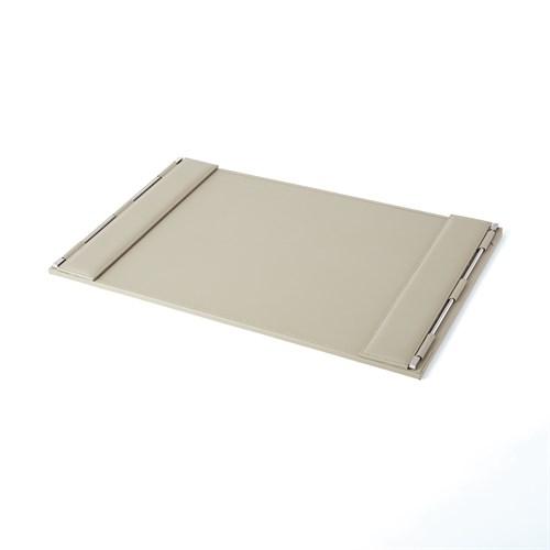 Flap Desk Blotter-Grey
