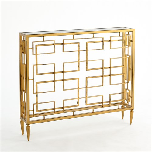 Open Block Console-Gold