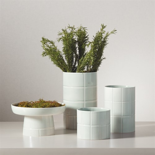 Glassblock Vase-Seaglass