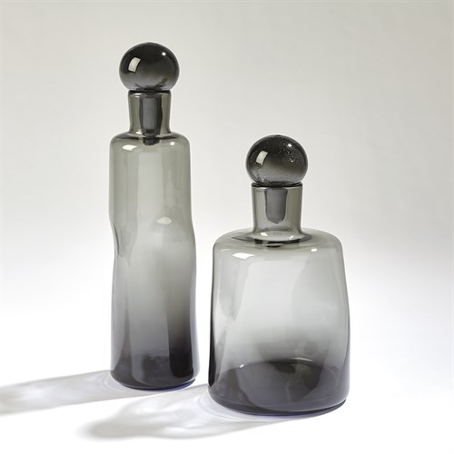 Pinched Decanters-Grey