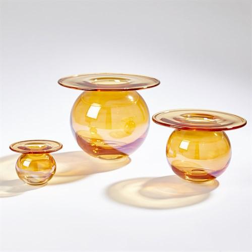 H20 Vase-Luster Orange