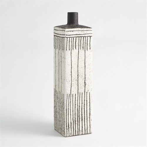 Graffiti Square Vase