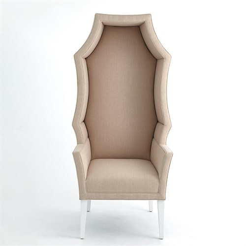 Hood Chair-Blush Linen