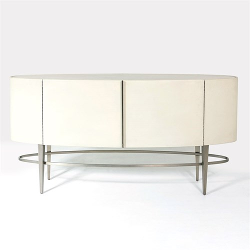 Ellipse Side Board-Ivory