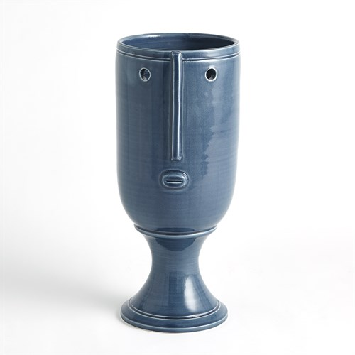 Long Nose Vase-Blue