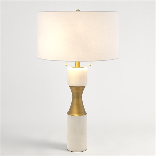 Marble Cinch Lamp