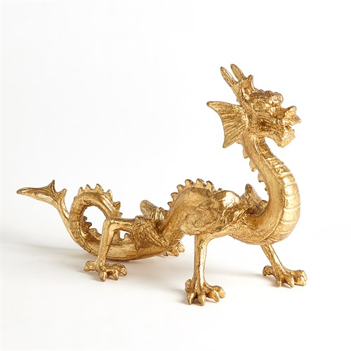 Standing Dragon-Gold Leaf