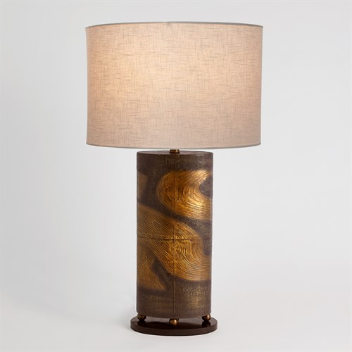 Currents Lamp-Brass/Bronze