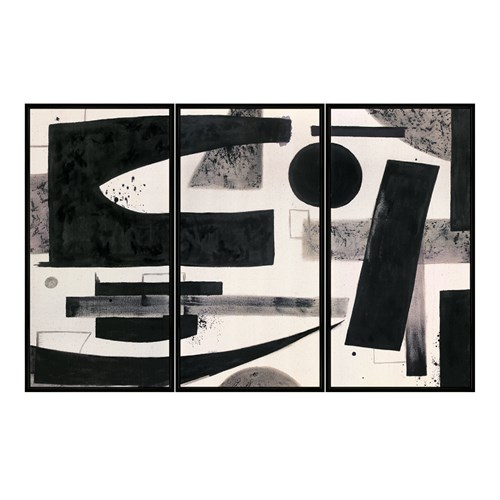 Framed Printed Canvas-Modernist-Bounce