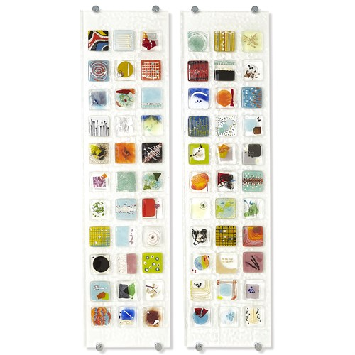 Art Glass Wall Panel