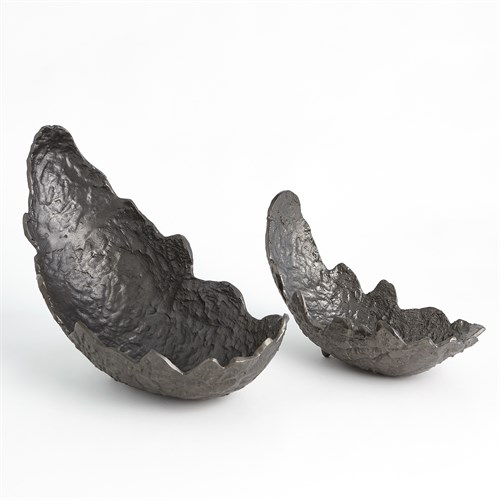 Leaf Bowls-Black Nickel