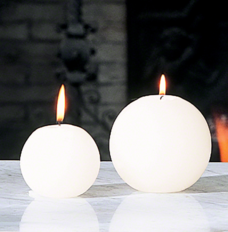 Ball Candle - Unscented