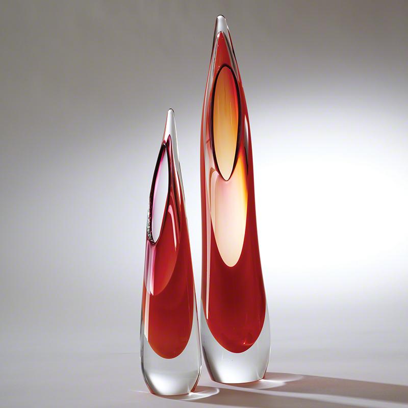 Stalagmite Vase-Fire