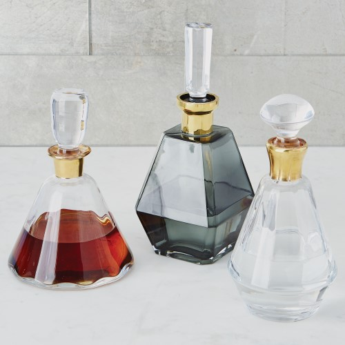Prism Decanter-Gold