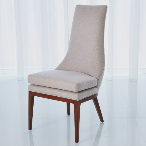 Isabella Dining Chair-Candid Fleece