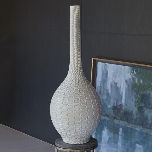 Rinaldi Vase-Matte White