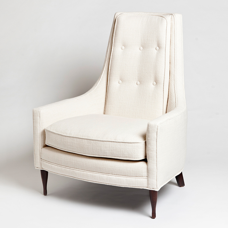 Wayne Chair-Ivory
