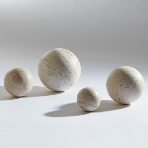 Travertine Sphere-4