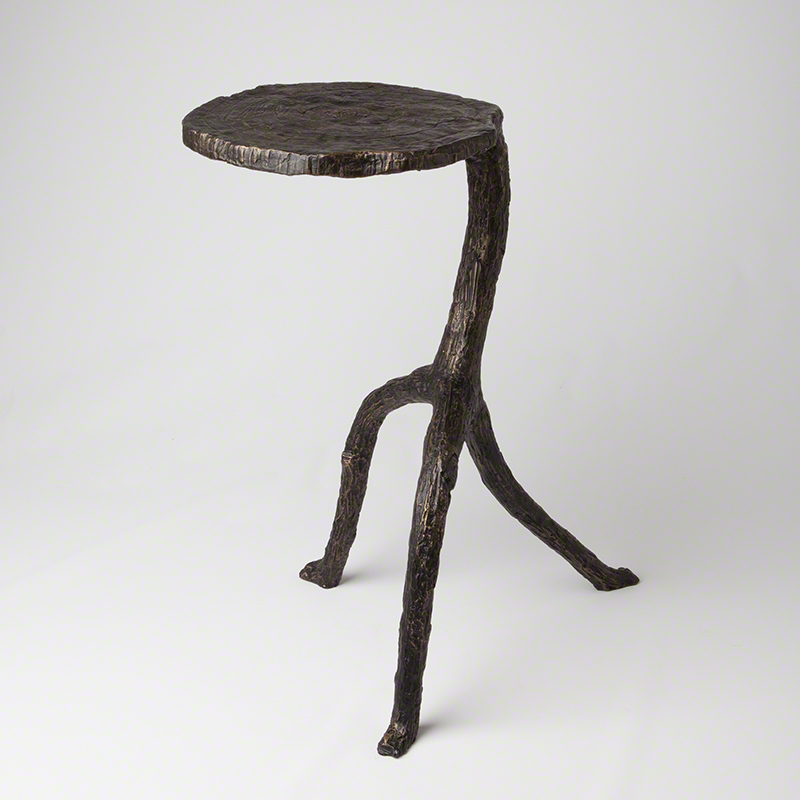 Walking Sticks Table-Natural Iron
