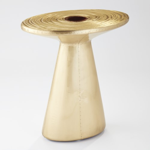Cosmos Table-Brass