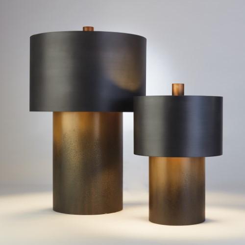 Tortoise Drum Lamp