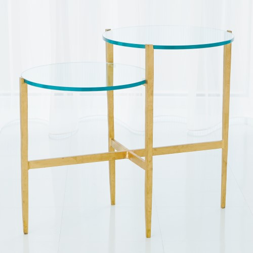 Dante Table-Antique Gold