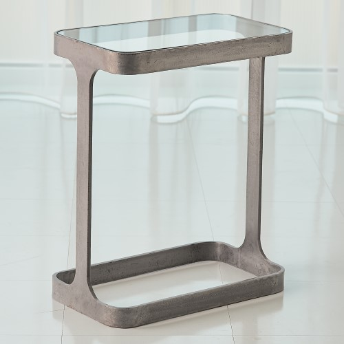 Saddle Table-Natural Iron